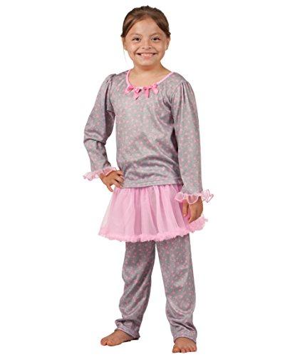 Girlie Baby Doll Shirt - Laura Dare Baby Girls Happy Hearts Tutu PJ Set, 18m