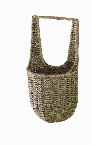 Tag Seagrass Basket, 13-1/2-Inch Wall Basket