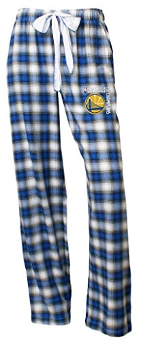 Golden State Warriors 2018 NBA Champions Women's Flannel Pajama/Lounge Pants Small 4-6 -