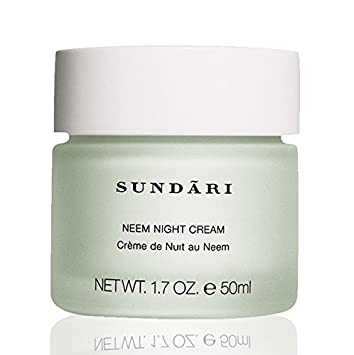 SUNDARI Neem Night Cream for All Skin Types Paraben Free Face Cream Skin Care for Women Anti Wrinkle Cream Best Seller Wrinkle Prevention Cream
