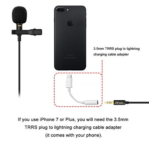 best iphone microphone professional 1 best lavalier lapel microphone 10260
