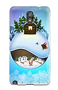 For Galaxy Note 3 Tpu Phone Case Cover(christmas In December) by lolosakes