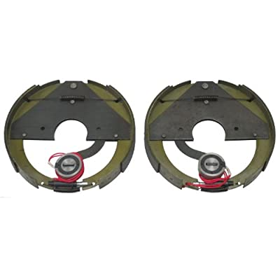 """LIBRA New 12"""" X 2"""" Mobile Home Trailer Electric Brake Assembly 1 Pair/2.65"""" Center Hole - 21011: Automotive"""