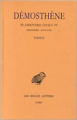 En ligne téléchargement gratuit Plaidoyers civils, tome 4 : Discours 62-70 epub, pdf
