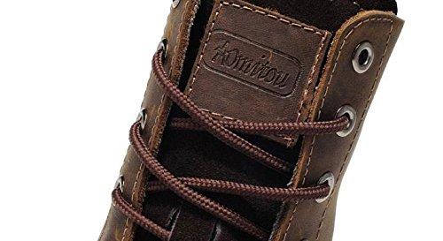 gli da da Scarponi brown cotone stivali scarpe 39 maschili in jeans uomo aiutare per 42 invernali neve peluche in moto 0ZwZFqfd