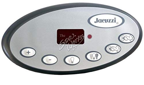 Hot Tub Classic parts Jacuzzi Spa Topside Control Panel, J-300, LED Series, 2008+ 1 Pump. 2600-331 (300 Series Pumps)