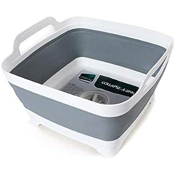 Amazon Com Joseph Joseph 85102 Wash Amp Drain Plus Dishpan
