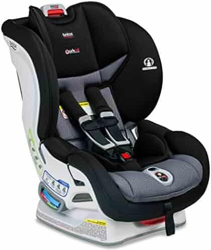 Britax Marathon ClickTight Anti-Rebound Bar Convertible Car Seat - 1 Layer Impact Protection - Rear & Forward Facing - 5 to 65 pounds, Ashton