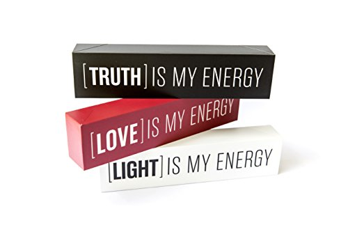 Love to Be Truth is My Energy Inspirational Wood Box Signs