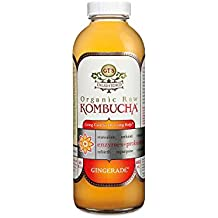 GT'S Organic Raw Kombucha Gingerade (16 oz. bottle, 6 pk.)