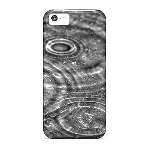 High Quality Wzz1686avie Rain Drops Tpu Case For Iphone 5c