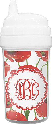 Poppies Toddler Sippy Cup (Personalized) ()