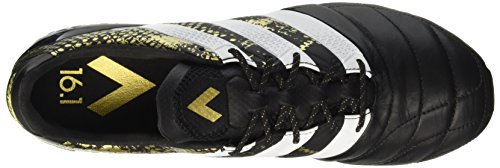 Football de Noir 1 Homme Goldmt Ace FG adidas Chaussures Ftwwht Leather Cblack Noir 16 x6Rq06vwY