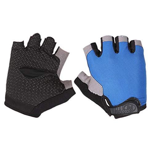 T TOOYFUL Fitnesshandschoenen, sporthandschoenen, ademend, antislip, handschoenen zonder vingers