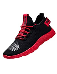 Men Fashion Sneakers Flying Weaving Running Tourist Fitness Leisure Sports Shoes