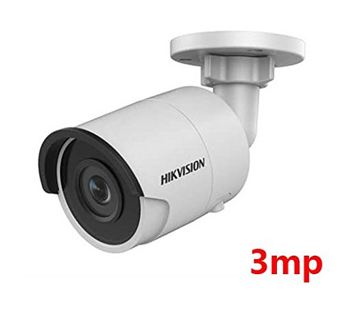teaker Hikvision 3 MP Ultra-Low Light Network Bullet Camera DS-2CD2035FWD-I 2.8MM Lens with H.265 PoE+ IP67 ONVIF Outdoor and Indoor IP Camera English Version Support Upgrade