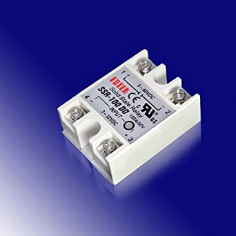 A DC To DC Solid State Relay SSR Amazoncom Industrial - Solid state relay gets hot