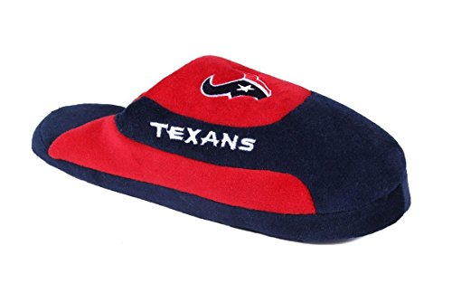 Low Womens Feet Texans Pro Happy and NFL OFFICIALLY Feet Houston Slippers Mens Low LICENSED Comfy Pro dazwxq0pz