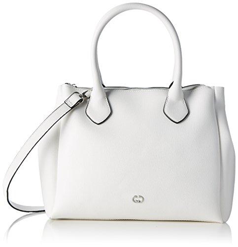 Gerry Weber 4080003868, Bolso Mujer Blanco (White)