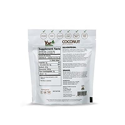 Yae-Organics-3oz10-Servings-100-Organic-Coconut-Milk-Powder-Non-GMO-Gluten-Free-Vegan-Dairy-Free-Powdered-Coconut-Milk