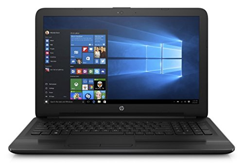HP Notebook Laptop 15.6 HD Vibrant Display Quad Core AMD E2-7110 APU 1.8GHz 4GB RAM 500GB HDD DVD Windows 10