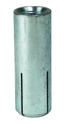 Simpson Strong Tie DIA37 Simpson Strong-Tie Carbon Steel Drop-In Anchor 3/8-inch Rod 1-1/2-inch body 50 per Box by Simpson Strong-Tie
