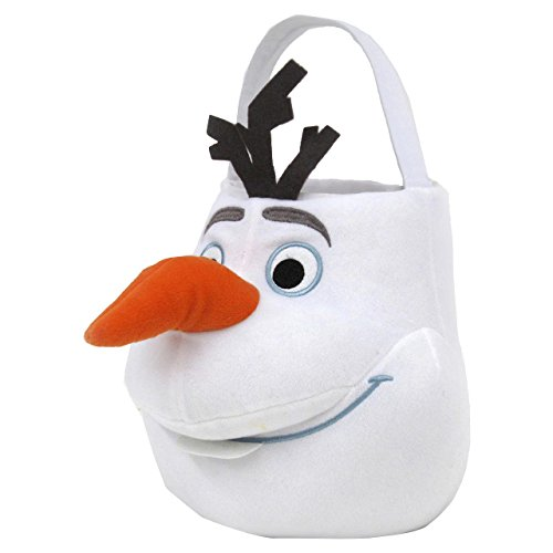 Disney Frozen Olaf Easter Jumbo Plush Basket]()