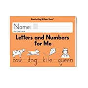 Handwriting Without Tears Letters and Numbers Kindergarten