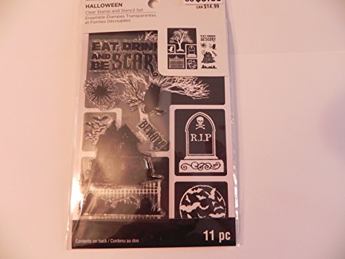 Recollections Halloween Stamps & Stencils, Haunted House