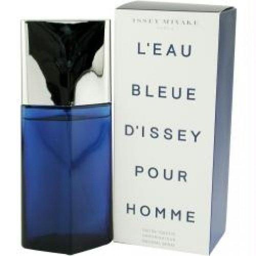 LEAU BLEUE DISSEY POUR HOMME by Issey Miyake Eau De Toilette Spray 4.2 oz Men