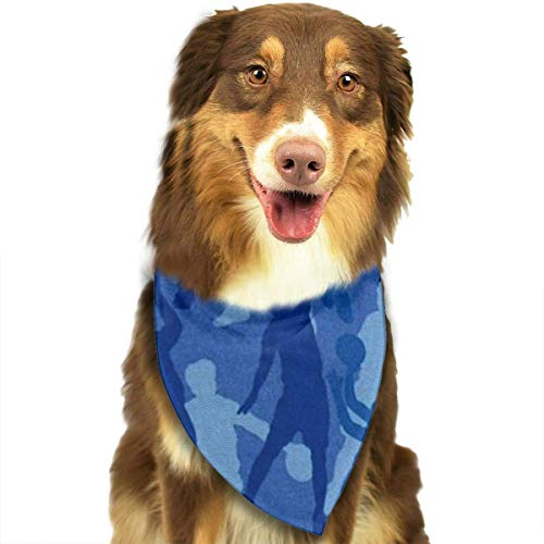 dolphin Ty Dog Bandana Scarf Basketball Player Triangle Bibs Printing Kerchief Set Accessories Dogs Cats Pets]()