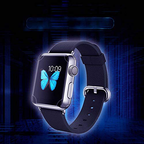 Huangou [ 1 Pack ◆ Smart Watch 3D Hydrogel Protector Film ◆ Clear Full Coverage Hydrogel Transparent Screen Protection Film for Apple Watch 4 40mm (Clear) by Huangou (Image #6)