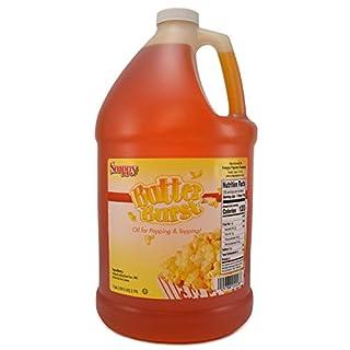 Snappy Butter Burst Popcorn Oil, 1 Gallon