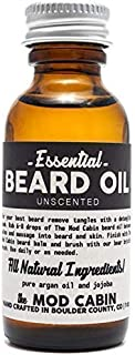 product image for Essential (Unscented) Beard Oil - All Natural, Hand Crafted in USA