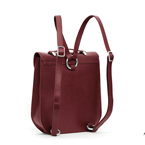 Gretchen - Calla Backpack - Burgundy Red