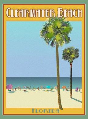 Vintage myrtle beach poster
