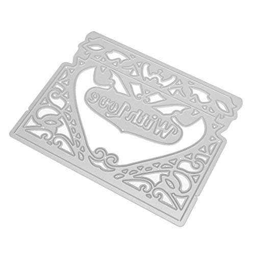 2019 New Cutting Dies Cut 3D Carbon Steel Cutting Dies Stencils Scrapbooking Embossing Cards DIY Crafts Art Gift ()