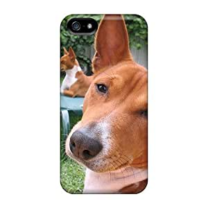 Durable Elvis The Basenji Back Case/cover For Iphone 5/5s