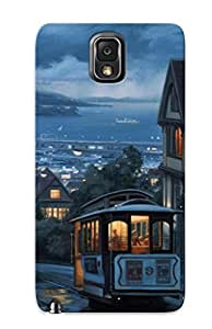 Hard Plastic Galaxy Note 3 Case Back Cover,hot Beautiful Landscape Case At Perfect Diy