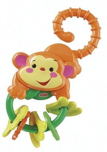 Fisher Price L0513 Rainforest Monkey Teether