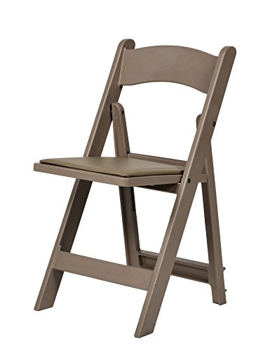 Commercial Seating Products R-101-SB Resin Folding Chair, Sand Beige