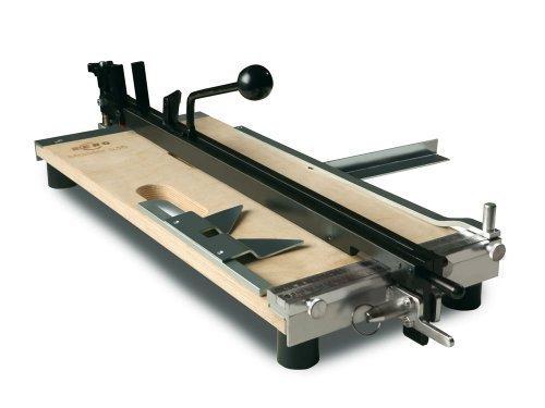 Fliesenschneidemaschine FSM 1000 MH mit einer Gesamtschnittlänge von 1000 mm.