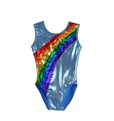Obersee Kid's Gymnastics Leotard, Rainbow Arc, CXXS