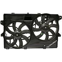 MAPM Premium EDGE/MKX 07-14 RADIATOR FAN ASSEMBLY, 3.5L/3.7L, w/Towing Pkg., w/Controller