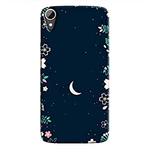 Cover It Up - Flower Moon Desire 828 Hard Case