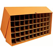 Large storage box for Quarters in bank rolls or coin tubes