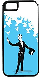 TYH - iPhone 6 4.7 Cases Customized Gifts Cover Artistic magician holding a wand and black hat Design ending phone case
