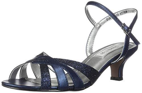 Touch Ups Women's Jane, Navy Glitter, 7 W US