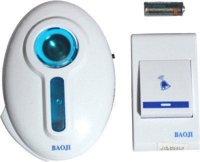 Cpixen Baoji Wireless Cordless Calling Remote Door Bell For Home Office Shop