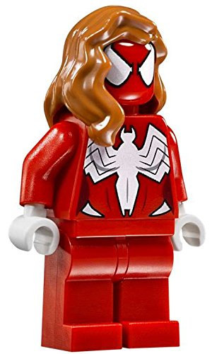 LEGO Marvel Super Heroes Spider Girl Minifigure 76057 Woman (Marvel Spider Heros)